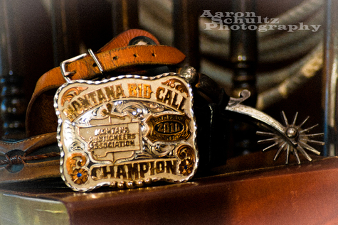 Belt buckle and spurs